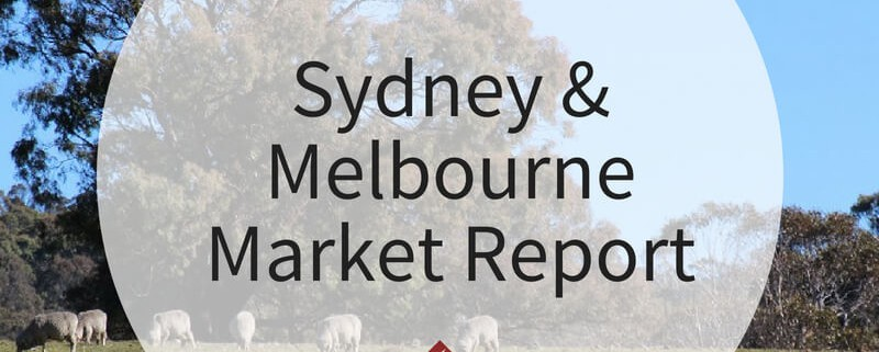 Sydney and Melbourne Market Report