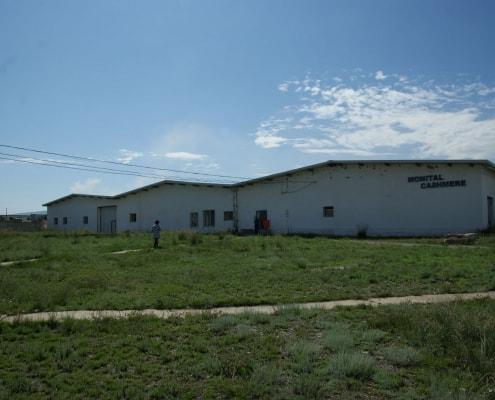 Monital Cashmere Plant in Ulaanbaatar