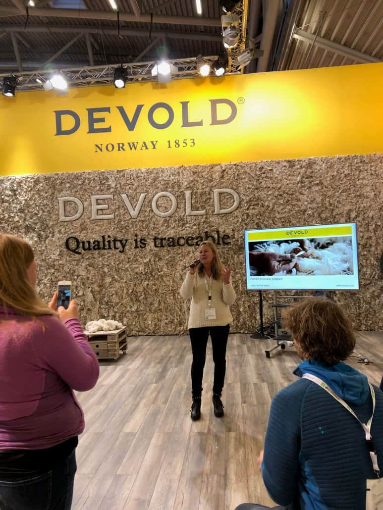 Devold Press Conference at ISPO 2019