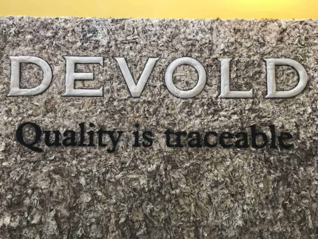 Devold Wool Wall - Quality is Traceable