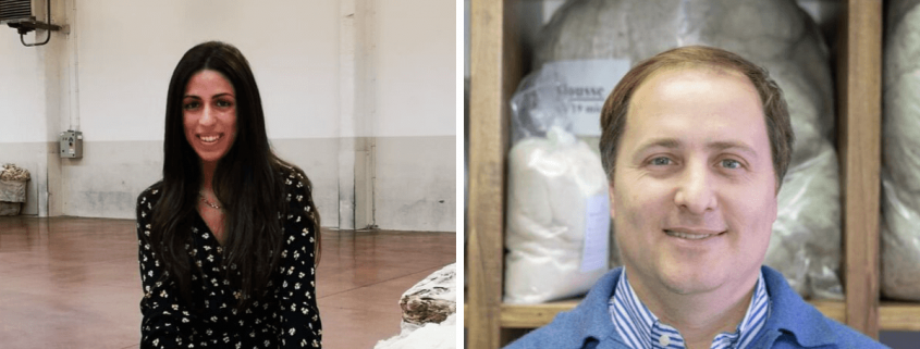 New Staff Members Sara Monteleone and Willy Gallia at The Schneider Group